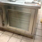 Custom Stainless Vent Door