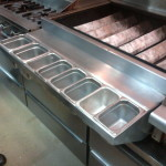 Stainless Condiment Rail Rack