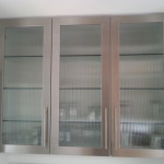 Custom Stainless Steel Cabinet Doors
