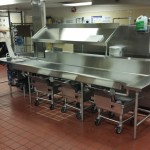 Stainless Table Installation