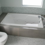 Custom Stainless Bath Frame