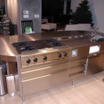 Custom Stainless Island Counter