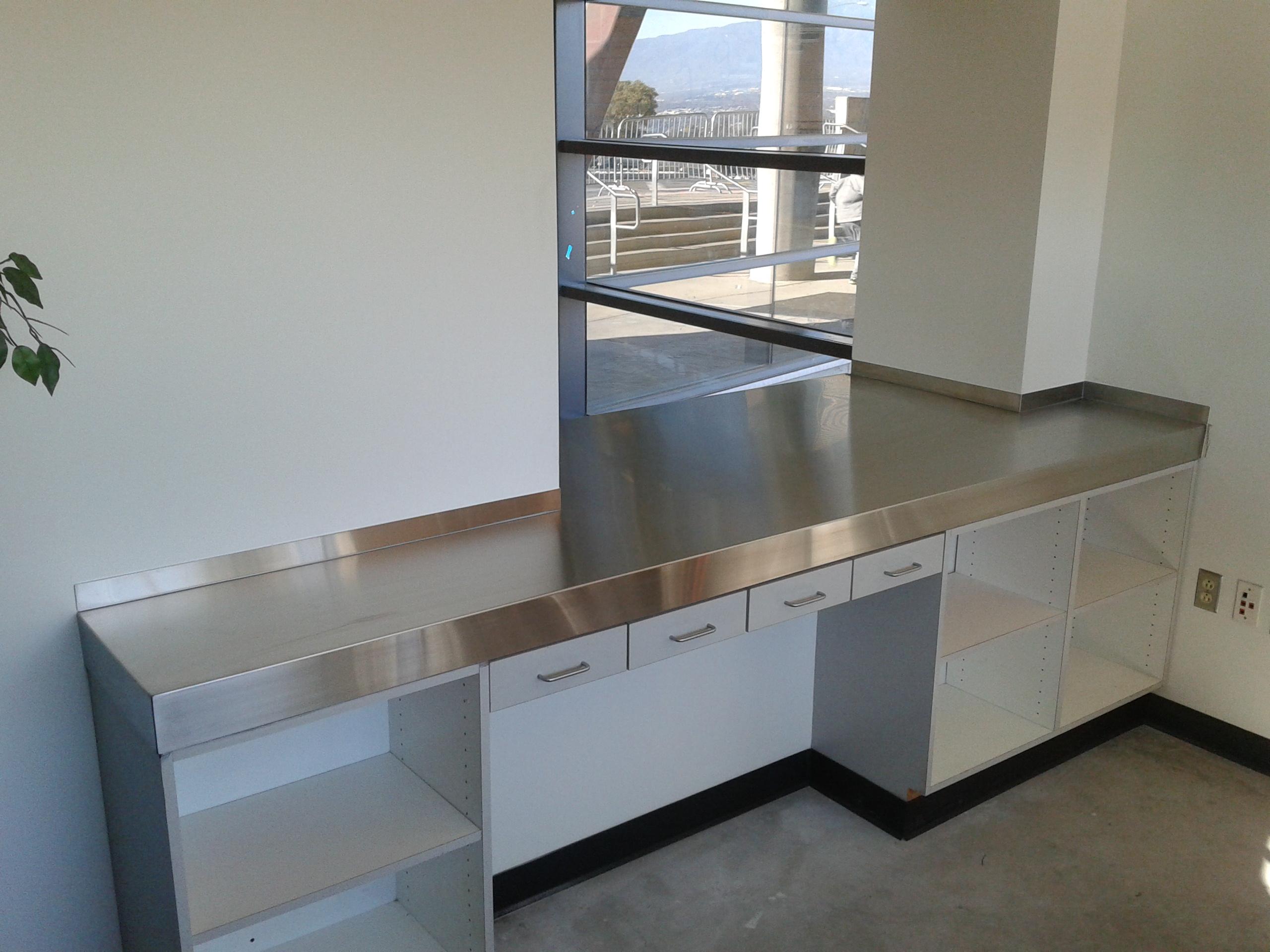 Stainless Steel Countertop pass thru