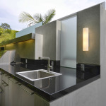 Out Door Sink, Stainless Faces and Light Cover