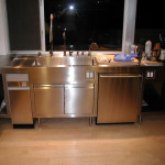 Custom Stainless Cabinet